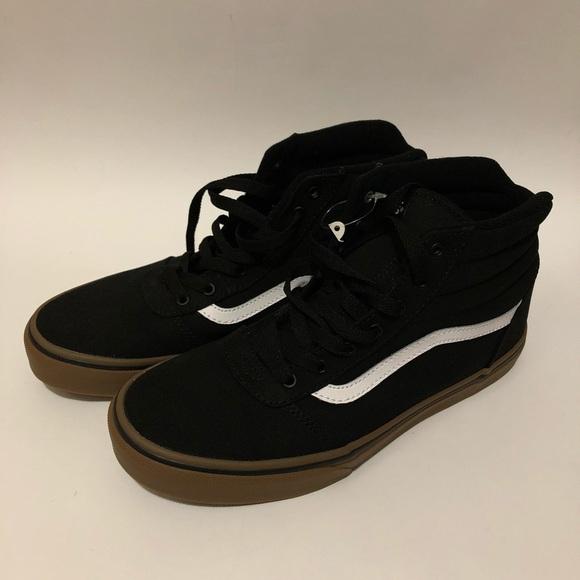 Vans Ward Hi Size 6 Black Gum 016c74629